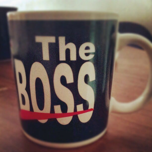 You're the Boss Mug