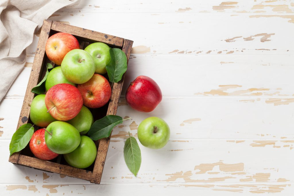 Red and Green apples are similar, but different