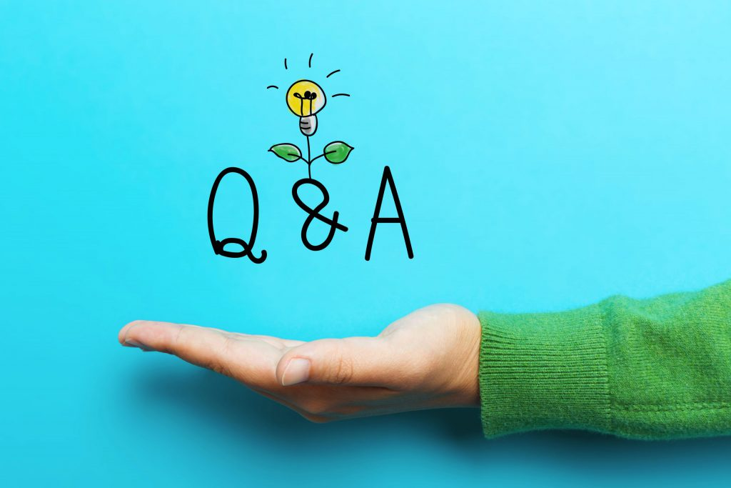 Q&A with a lightbulb. Here come some great answers!