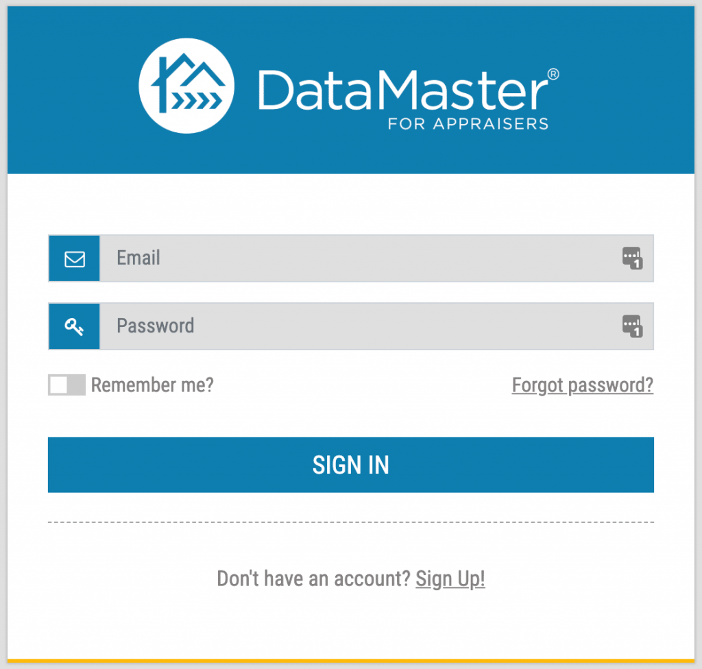 To upload your MISMO files into CompTracker, you need a DataMaster account